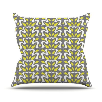 Cascade Throw Pillow Size: 16 H x 16 W