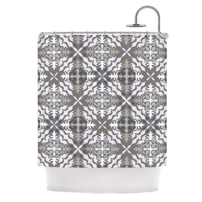 Let In Snow Shower Curtain