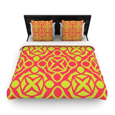 Holiday Woven Comforter Duvet Cover Size: Twin