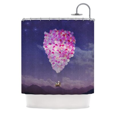 Never Stop Exploring IV Shower Curtain
