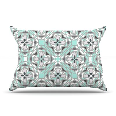Winter Pool by Miranda Mol Featherweight Pillow Sham Size: King, Fabric: Woven Polyester