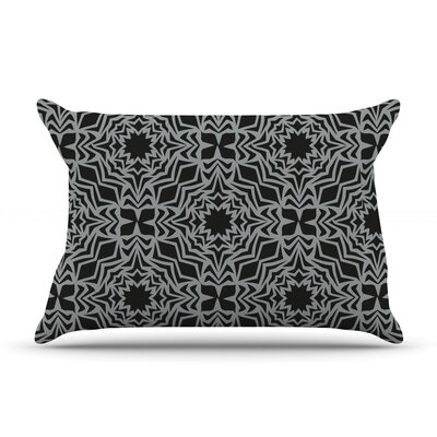 Optical Fest by Miranda Mol Featherweight Pillow Sham Size: Queen, Fabric: Woven Polyester