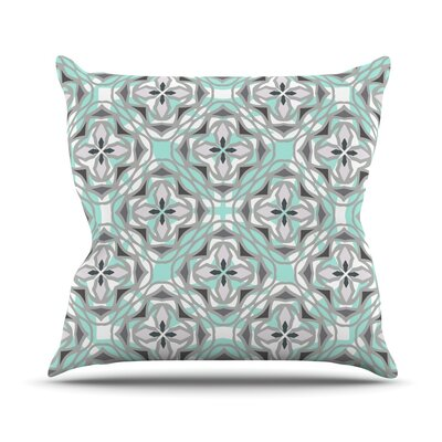 Winter Pool Throw Pillow Size: 18 H x 18 W