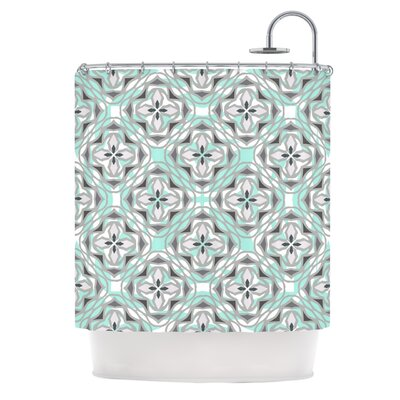 Winter Pool Shower Curtain