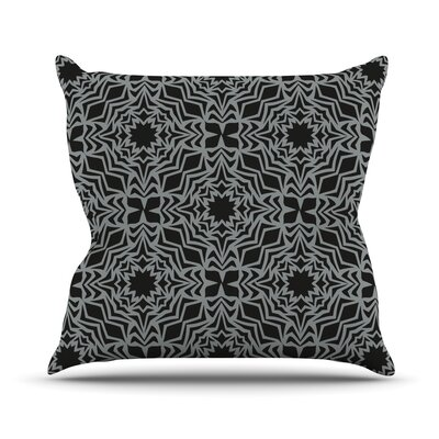 Optical Feast Throw Pillow Size: 16 H x 16 W