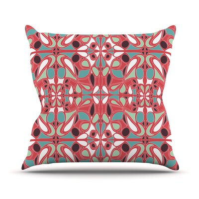 Stained Glass Throw Pillow Size: 16 H x 16 W