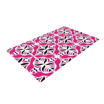 Miranda Mol Think Pink Area Rug Rug Size: 2 x 3