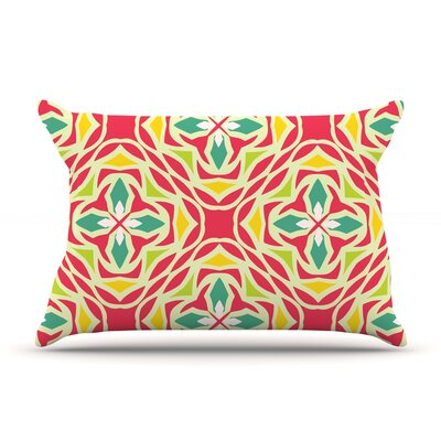 Christmas Carnival by Miranda Mol Featherweight Pillow Sham Size: King, Fabric: Woven Polyester