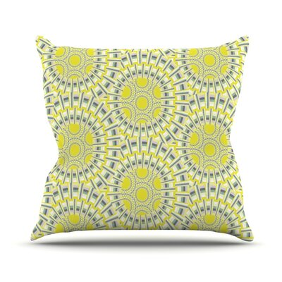 Sprouting Cells Throw Pillow Size: 16 H x 16 W