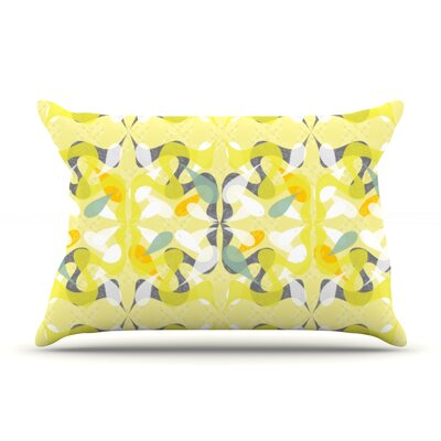 Spring Flourish Pillow Case Size: Standard