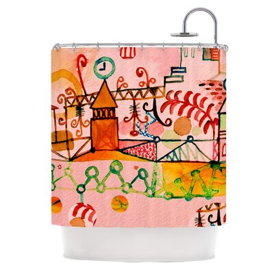 Happy Town Shower Curtain