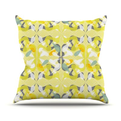 Spring Flourish Throw Pillow Size: 26 H x 26 W