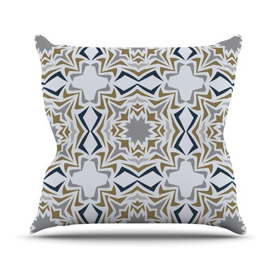 Ice Stars Throw Pillow Size: 16 H x 16 W