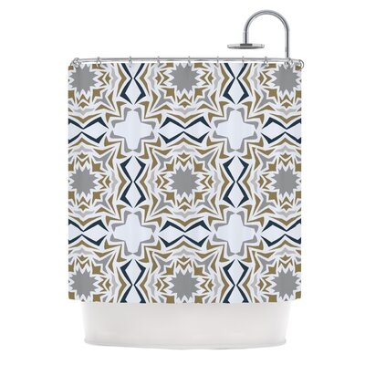Ice Stars Shower Curtain