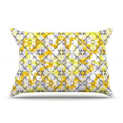 Effloresco by Miranda Mol Featherweight Pillow Sham Size: Queen, Fabric: Woven Polyester