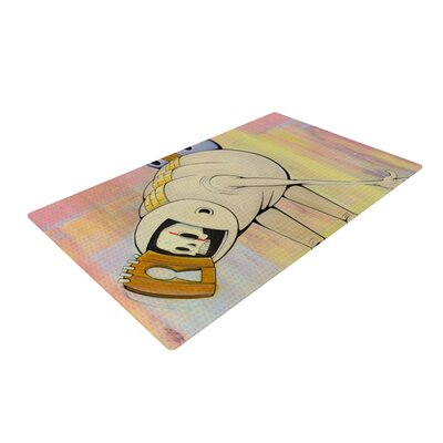Matthew Reid Good Day Yellow/Pink Area Rug