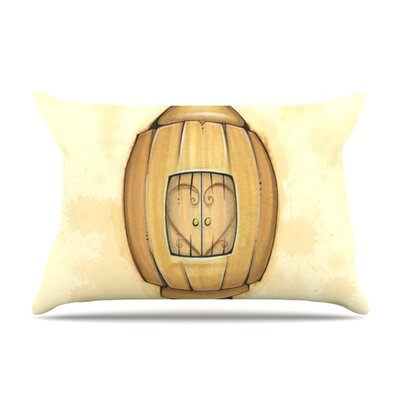 Her by Matthew Reid Featherweight Pillow Sham Size: Queen, Fabric: Woven Polyester