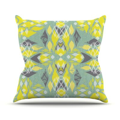 Joyful Throw Pillow Size: 16 H x 16 W