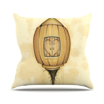 Her Throw Pillow Size: 26 H x 26 W