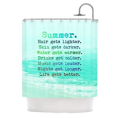 Summer XXL Shower Curtain