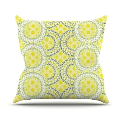 Blossoming Buds Throw Pillow Size: 18 H x 18 W