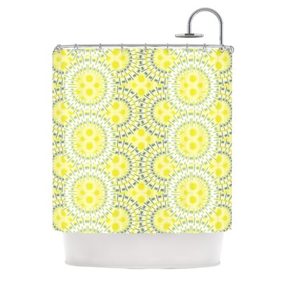 Blossoming Buds Shower Curtain