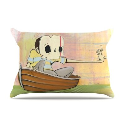 Drifting by Matthew Reid Featherweight Pillow Sham Size: King, Fabric: Woven Polyester