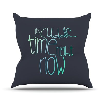 Cuddle Time Throw Pillow Size: 26 H x 26 W