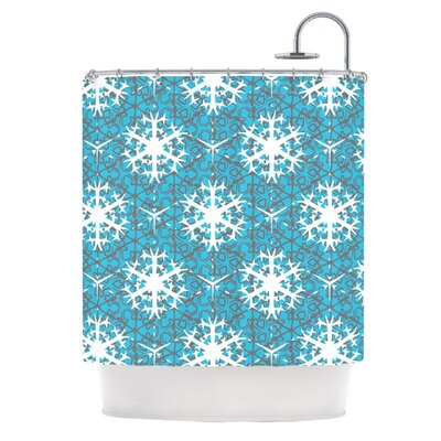 Precious Flakes Shower Curtain