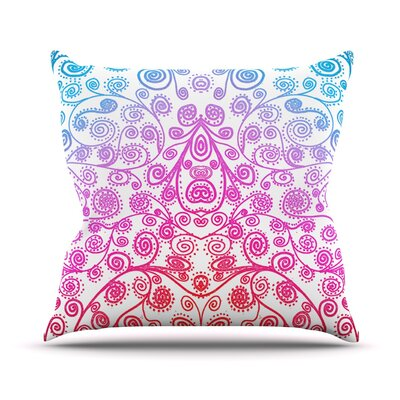 Safe and Sound Throw Pillow Size: 18 H x 18 W