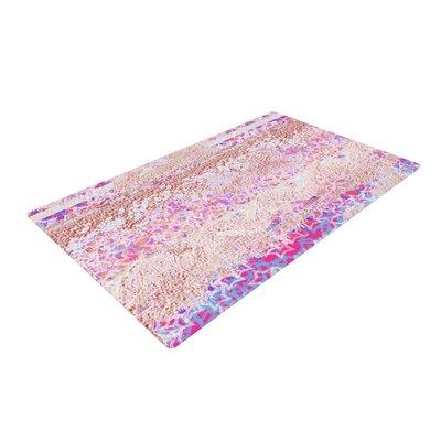 Marianna Tankelevich Broken Pattern Pink/Purple Area Rug Rug Size: 2 x 3