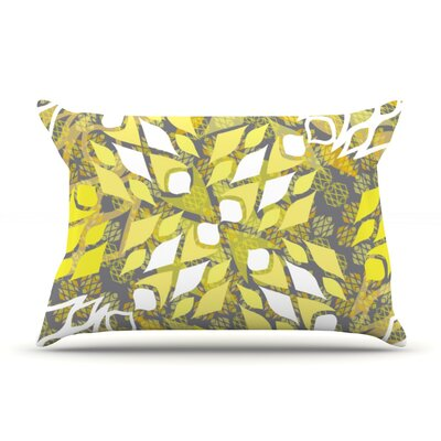 Sandy Signs by Miranda Mol Featherweight Pillow Sham Size: King, Fabric: Woven Polyester