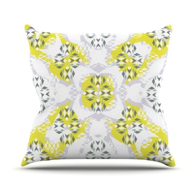 Vernal Season Throw Pillow Size: 18 H x 18 W