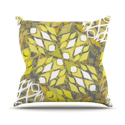 Sandy Signs Throw Pillow Size: 18 H x 18 W