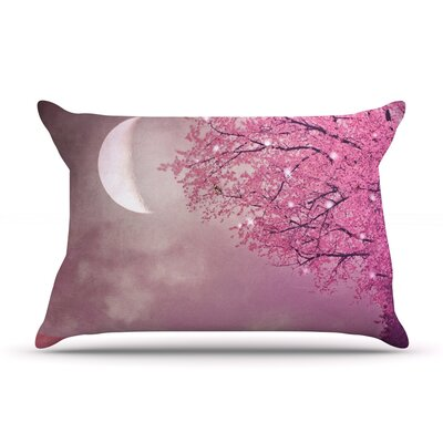 Song of The Springbird Pillow Case Size: King