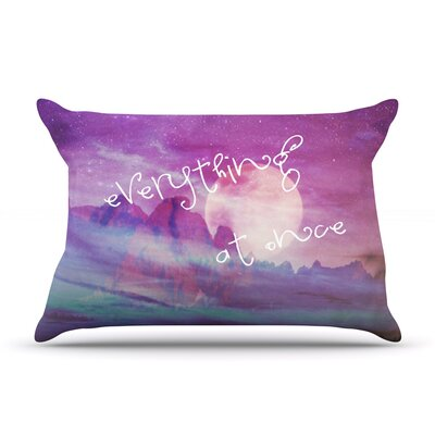 Everything at Once Pillow Case Size: King