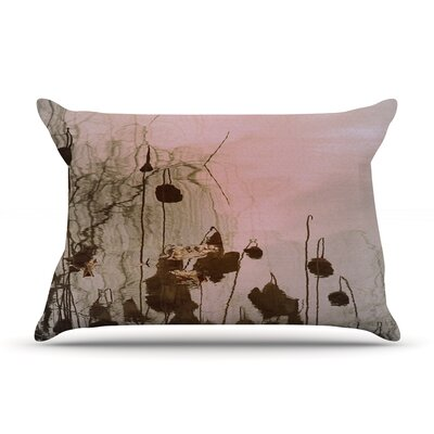 Lotus Dream by Marianna Tankelevich Featherweight Pillow Sham Size: Queen, Fabric: Woven Polyester