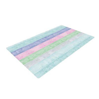 Monika Strigel Beach Wood Pastel Area Rug Rug Size: 4 x 6