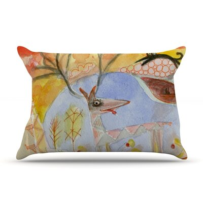 Promise of Magic by Marianna Tankelevich Featherweight Pillow Sham Size: Queen, Fabric: Woven Polyester
