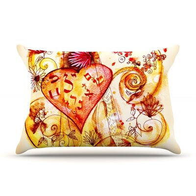 Marianna Tankelevich Tree of Love Featherweight Sham Size: Queen, Fabric: Woven Polyester