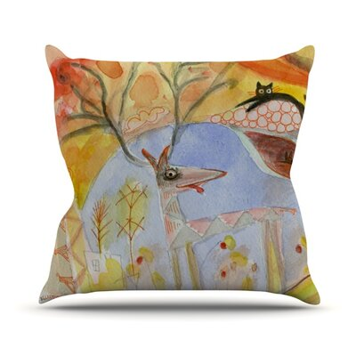 Promise of Magic Throw Pillow Size: 18 H x 18 W