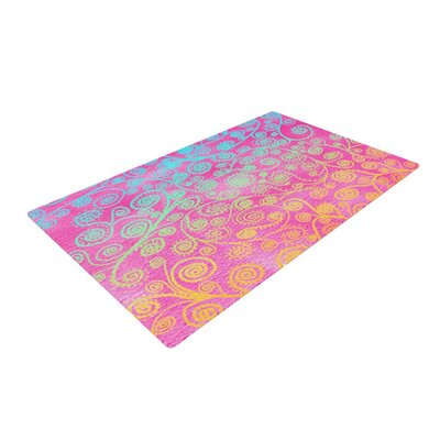 Monika Strigel Get Lucky Pink Area Rug