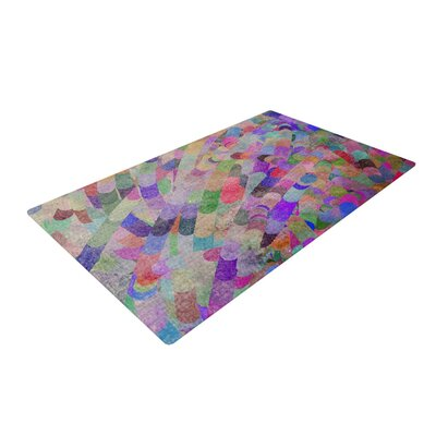 Marianna Tankelevich Abstract Rainbow Area Rug Rug Size: 2 x 3