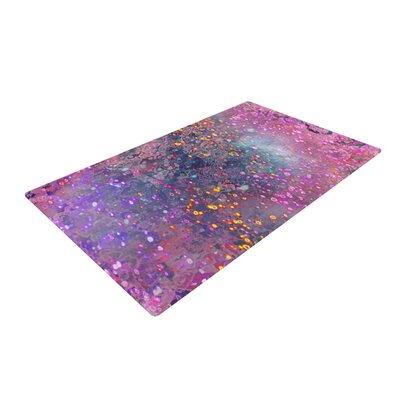 Marianna Tankelevich Universe Pink/Purple Area Rug Rug Size: 2 x 3