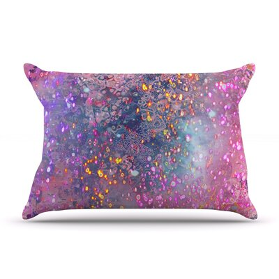 Pink Universe by Marianna Tankelevich Featherweight Pillow Sham Size: Queen, Fabric: Woven Polyester