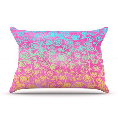 Get Lucky by Monika Strigel Featherweight Pillow Sham Size: King, Fabric: Woven Polyester