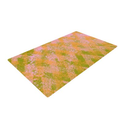 Marianna Tankelevich Fuzzy Feeling Yellow/Green Area Rug Rug Size: 2 x 3