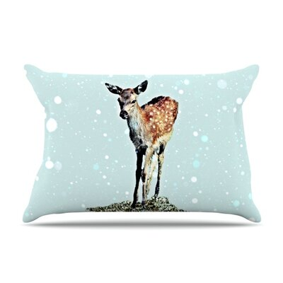 Fawn by Monika Strigel Featherweight Pillow Sham Size: Queen, Fabric: Woven Polyester
