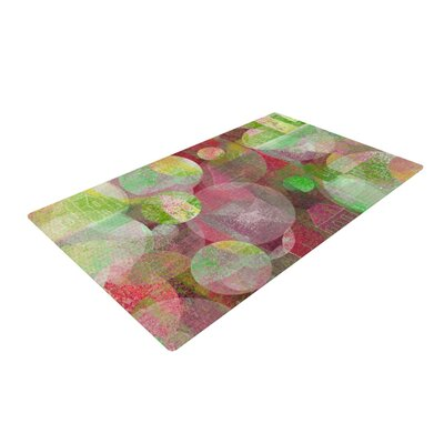 Marianna Tankelevich Dream Place Red/Green Area Rug Rug Size: 2 x 3