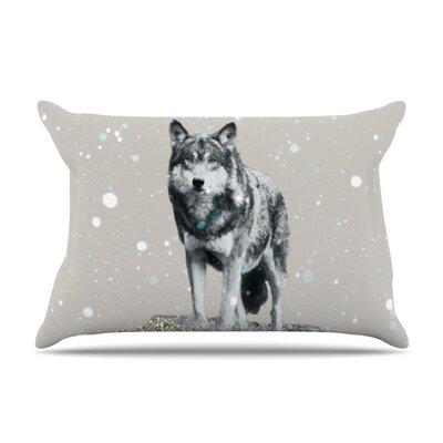 Monika Strigel Wolf Featherweight Sham Size: Queen, Fabric: Woven Polyester
